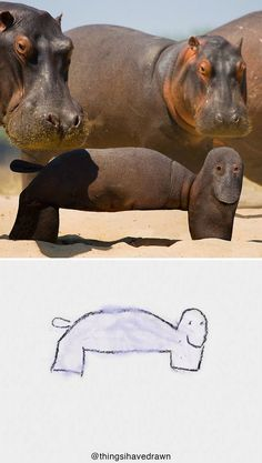 Dad Shows What Kid's Drawings Would Look Like In Real Life And They're TERRIFYING