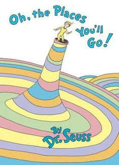 A perennial favorite, Dr. Seusss wonderfully wise graduation speech is the perfect send-off for children starting out in the world, be they nursery school, high school, or college grads! From soaring