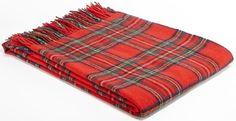 Tweedmill Prestige Lambswool Throw Royal Stewart Tartan A beautiful high quality throw ideal for the bottom of a bed a throw for a chair or sofa or