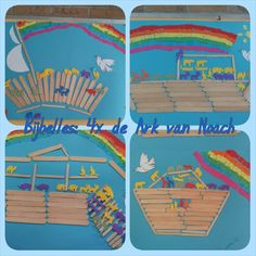 Make the Noah& Ark Noahs Ark Craft, Verona, Bible Plan, Vbs Crafts, Vacation Bible School, Bible Lessons, Sunday School, Kids Toys, Preschool