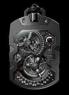 Urwerk - Super-complication UR-1001 Zeit Device   WorldTempus