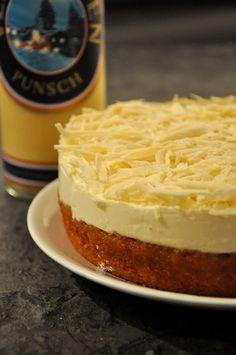 Eierlikör Rezept: Frischkäse-Torte mit Verpoorten Punsch