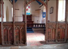 Medieval Rood Screen by Baz Richardson, via Flickr