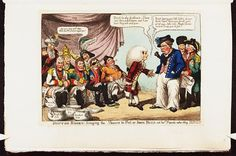 March 1808.Bodleian Libraries,Doctor Boney bringing the powers to pot,or-Iohn Bull and his friends rather shy.Caricature of Napoleon I.(British political cartoon)