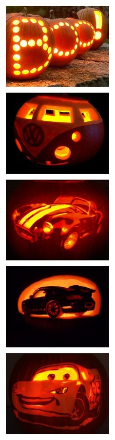 SCARY spooky pumpkin cars! Click for more 'Spooktacular' #Halloween ideas...