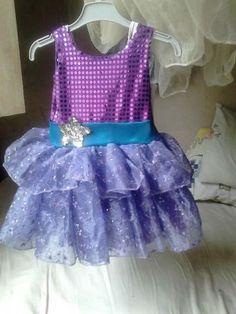 Vestido da pop star (barbie)