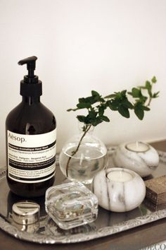 Love AESOP hand soap :)