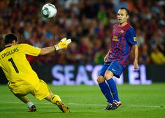 Andres Iniesta Photos - Barcelona v Real Madrid - Super Cup - Zimbio