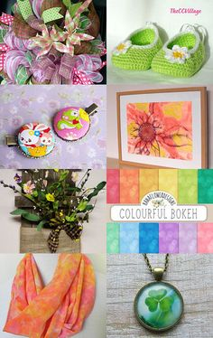 Think Spring! by Karen on Etsy--Pinned with TreasuryPin.com