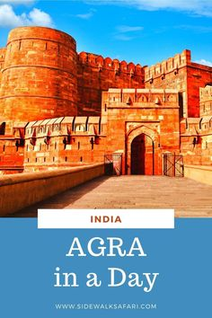 Explore Agra India on a day on a day trip by train from Delhi. By Train, Once In A Lifetime, Agra, India Travel, Incredible India, Day Trip, Traveling By Yourself, Places To Visit, Bucket