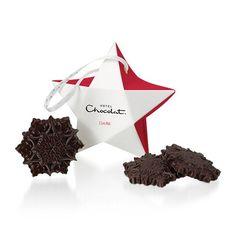 Dark Chocolate Red Star Decoration