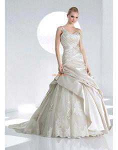 Elegant & Luxuriös Winter Applikation Brautkleider 2014
