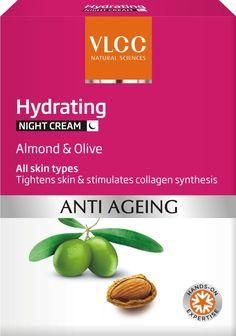 VLCC Hydrating Anti Aging Night Cream 50 gm To Buy : http://onerx.in/vlcc-hydrating-anti-aging-night-cream-50gm.html