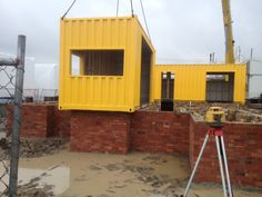 First containers in place