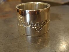 Lost Wax Casting – Carmela's courage/strength ring. Lost Wax Casting, Strength, Rings For Men, Students, It Cast, Sculpture, Jewelry, Ring, Men Rings