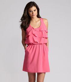 Gianni Bini Pablo Tiered Dress | Dillards.com