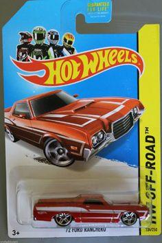Hot Wheels 2014 Hw Off-Road Hot Trucks '72 Ford Ranchero 134/250