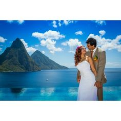 Our #simplybeautiful #islandparadise of #SaintLucia has been #voted consistently as one of the leading #weddingdestinations in the #Caribbean, and as such is favoured by #honeymooners & #weddingparties  alike.  Visit our #blog to see videos of #happycouples #gettingmarried in #StLucia. #destinationwedding #pictureperfect #WeddingWednesday #romance #newlyweds #wishyouwerehere #travel #wanderlust #tropical #vacation #happytourists #pitons #picturesque #blue #matrimony #picoftheday