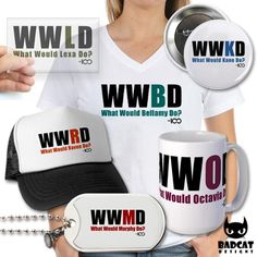 THE 100 - WHAT WOULD THEY DO?  'WWThe100D: What Would The Hundred Do?', official merchandise for the post-apocalyptic drama series #The100, inspired by the young adult novels by Kass Morgan.   Find these and more at the #BadCatDesigns Store!