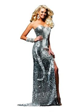 Sherri Hill 2270, Glittering Evening Gown « Clothing Impulse