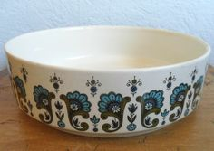 "Midwinter ""MEDITERRANEAN"" Vegetable Tureen / Straight Sided Bowl"