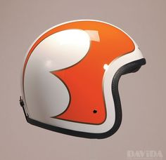 Davida - Vintage helmet with scallops