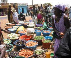 marché à dakar - SENEGAL