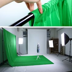 Cheap backdrops for photos, Buy Quality cloth backdrop directly from China chromakey green Suppliers: High Quality x Cotton Chromakey Green Screen Muslin Background Cloth Backdrop For Photo Lighting Studio Photography Studio Spaces, Photography Lighting Setup, Photo Lighting, Photography Backdrops, Light Photography, Photography Studios, Inspiring Photography, Photography Tutorials, Creative Photography