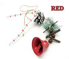 Christmas ornaments 1 pc windbell for pure natural handmade craft, steel bells  tree hanging decoration