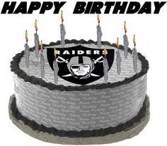 Raiders Happy Birthday Image - Raiders Happy Birthday Picture, Graphic, & Photo