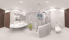 Ravishing 3D bathroom interior with modern sanitary wares and exquisite ceramics.  #3D #Interior #BathroomTiles #Sanitaryware #BathInterior  Address: Main Susan Road, Madina Town, Faisalabad, Pakistan. Contact : 041 8548746 Website: www.tileselect.com Facebook: fb.com/TileSelect