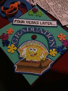 My undergraduate graduation cap..SPONGEBOB!