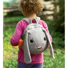 Apple Park® Picnic Pals Organic Plush Easter Backpack | Easter Shop