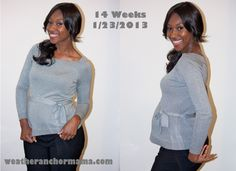 14 weeks and feeling great! Second trimester is my fav!