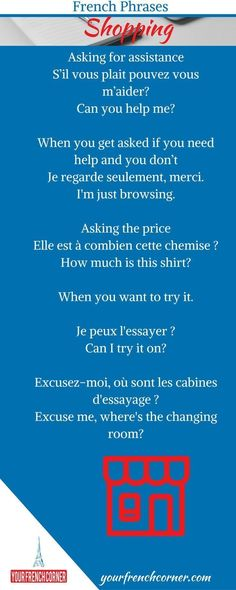 Are you Traveling to a French speaking country soon? It is time to kick off your French language learning journey. Here are 61 French Phrases For Travelers. French Language Lessons, French Language Learning, French Lessons, French Tips, French Phrases, French Words, French Quotes, Learn French Beginner, Beginners French