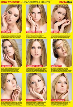 sheet: Headshot posing guide How to pose effective headshots and hands with our latest high-res cheat sheet. From the experts at How to pose effective headshots and hands with our latest high-res cheat sheet. From the experts at Portrait Photography Tips, Photography Cheat Sheets, Photography Lessons, Photography Tutorials, Digital Photography, Photography Ideas, Studio Photography Poses, Children Photography, Poses For Pictures