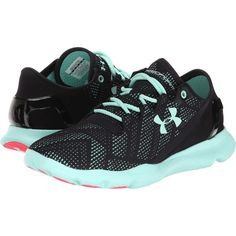 Under Armour UA Speedform Apollo Vent Women's Running Shoes, Black ($45) ❤ liked on Polyvore featuring shoes, athletic shoes, black, black athletic shoes, black running shoes, stretch shoes, stretchy shoes e lace up shoes