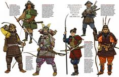 Samurai: The warrior class of feudal Japan Samurai Weapons, Samurai Warrior, Military Art, Military History, Bushido, Samurai Artwork, Japanese History, Japanese Art, Japanese Warrior