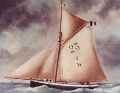 """""""Marie-Fernand"""", the last Le Havre pilot-cutter  in France has been fully restored."""