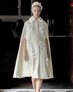 Lela Rose Spring 2018 Wedding Dress Collection   Martha Stewart Weddings – Belted wedding dress-coat