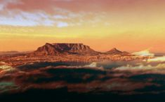 Everytime my mind wanders it takes me here - Table Bay and Table Mountain at Cape Town, South Africa. Table Mountain, Friday Feeling, Top Destinations, Weekend Vibes, Cape Town, Weekend Getaways, Monument Valley, Wander, South Africa