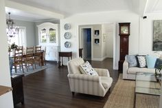 House Tour, Open for Inspection, House for Sale, Belle Property, Hamptons, American Style our home - GEORGICA POND INTERIORS