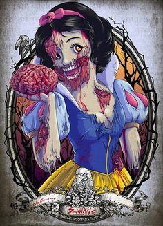 Nerd Watch: Which Disney Princess Makes the Best Zombie?