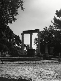 The home of the first olympics - Olympia, Greece Olympia Greece, Brooklyn Bridge, Olympics, Around The Worlds, Travel, Voyage, Trips, Viajes, Destinations