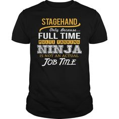 (Top Tshirt Discount) Awesome Tee For Stagehand [Tshirt design] Hoodies Tee Shirts