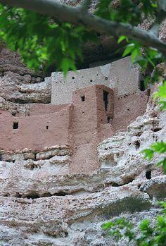 Montezuma's Castle National Monument, AZ - a dwelling of the Sinagua tribe.