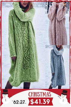 Frieed Mens Casual Loose Fit Turtleneck Knitting Solid Long Sleeve Split Winter Sweater