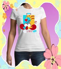 Scorpio sign of zodiac, zodiac tees, astrology t-shirt, Scorpio T-shirt, men's tee shirt, women's tee shirt, Spreadshirt $16.95
