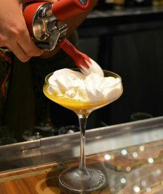 There are liquid masterpieces in the making at The Chandelier. Visit it on your next trip to Las Vegas. #VegasDrinks #cocktails