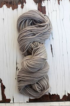Merino Bulky in Spanish Moss Dyed with Logwood and Osage